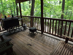 Covered Back Deck