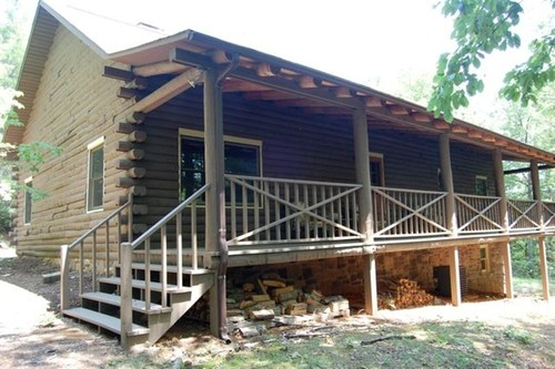 A Log Cabin Home with 3.62 Acres!
